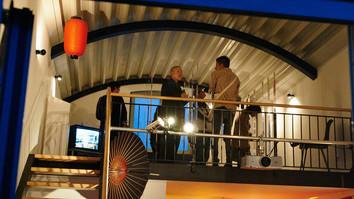 """Filmfestlounge im """"Projektor"""" 2010"""